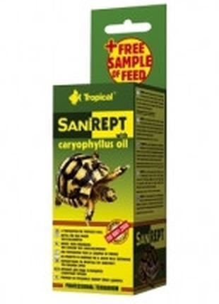 Tropical SANIREPT препарат для ухода за панцирем сухопутных че...