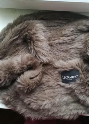 Натуральный меховый хомут снуд фирмы leonardo франция