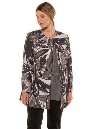 Модная куртка блейзер большого размера ulla popken