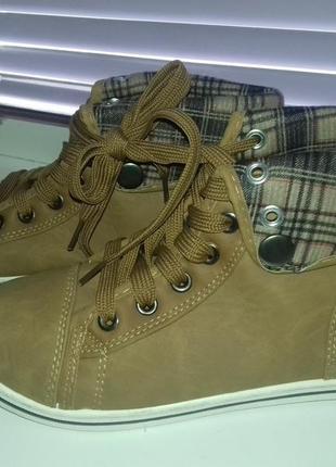 Новые кеды ботинки кроссовки