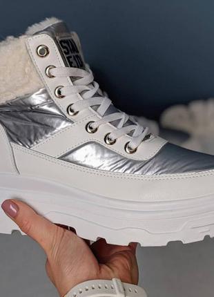 Женские зимние ботинки сапоги