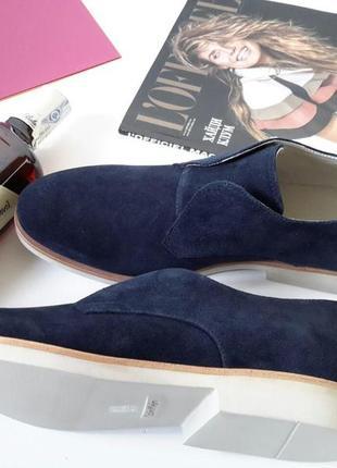 Мужские замшевые туфли кельвин кляйн в размере 43. оригинал.