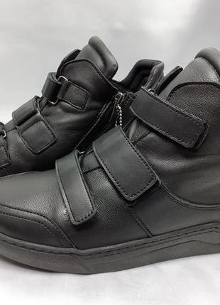 Распр!зимние ботинки под кроссовки на липучках и молнии rondo