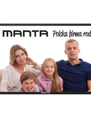 Телевизор MANTA 43LUA29L 43 дюйма smart tv T2 Android новый