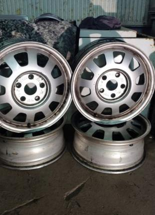 Легкосплавные диски audi wolkswagen skoda 5/112 r15 колеса титаны