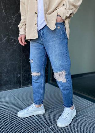 Мужские джинсы mom