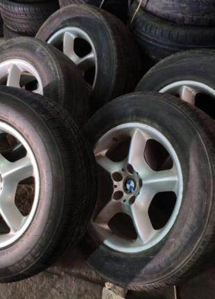 Легкосплавные диски BMW R17 5X120 235/65 колеса титаны