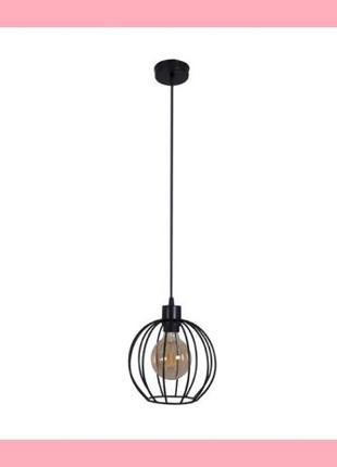 Подвесной черный светильник в стиле ЛОФТ Melbi