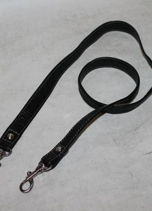 Кожаный плечевой ремень на сумку/портфель.длинная ручка