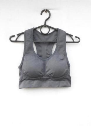 Бесшовный спортивный топ женская спортивная одежда 🌿