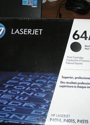 Картридж - первоходец (virgin) HP 64a