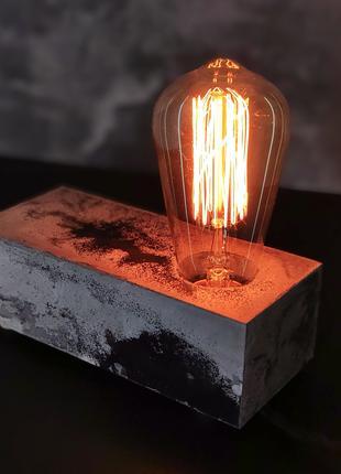 Настільний світильник (ручна робота)