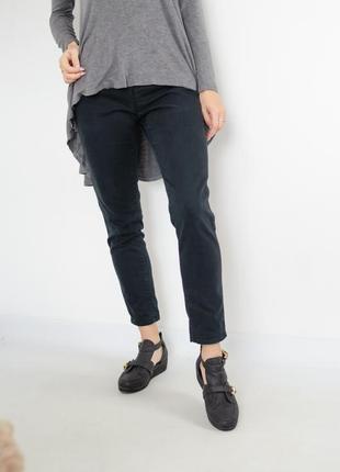 Sale benetton укороченные черные джинсы брючного фасона, скини...