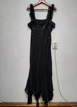 """Вечернее платье """" шик и блеск """" большого размера"""