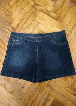 Стильные джинсовые шерты большого размера