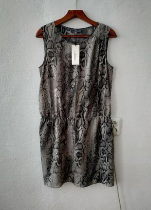 Легкое шифоновое платье большого размера