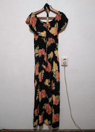"""Стильное платье """" цветочное """" большого размера"""