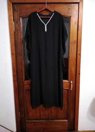 Элегантное женственное вечернее платье большого размера