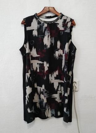Стильное платье - туника большого размера