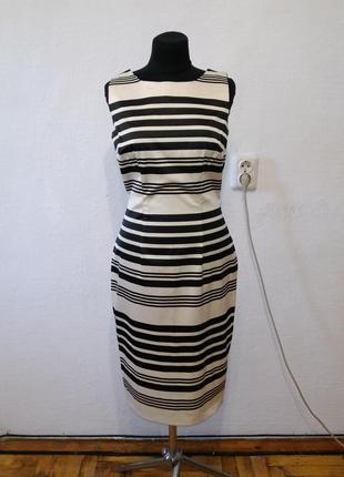 """Стильное платье """" зебра """" большого размера"""