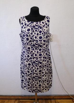 Стильное легкое платье большого размера