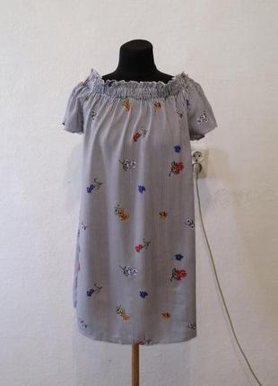 Стильное легкое летнее платье