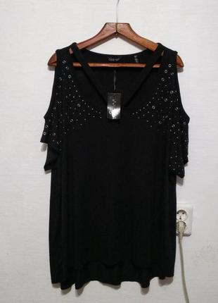 Стильная модная новая блуза большого размера