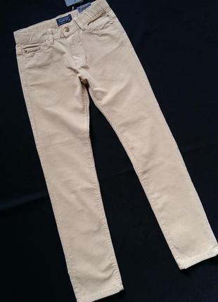 Вельветы-слим/штаны/брюки mayoral (испания) на 7-8 лет (размер...