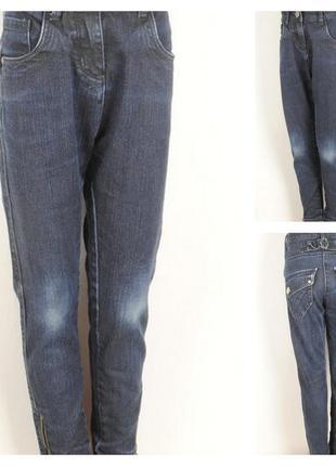 № 28/4  джинсы для девочки 8 лет рост 128 см .