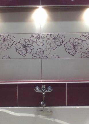 Установка ванн разного типа