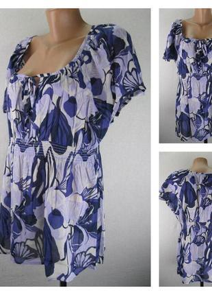 № 4/62  женская блуза h&m. в идеальном состоянии.   размер 48/50