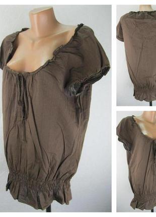 № 4/68  женская блуза esprit.  размер 48/50