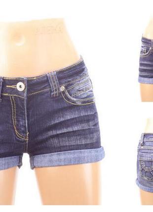 № 20/11  женские джинсовые шорты new look  размер 42 (8)