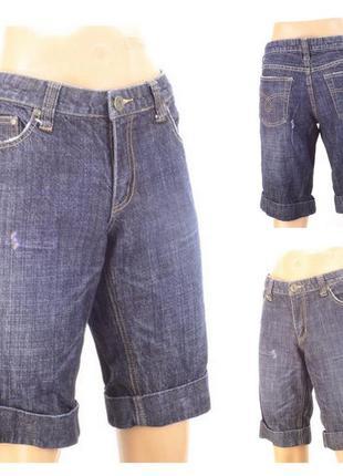 № 20/5  женские джинсовые шорты pepper размер 40/42 (31)