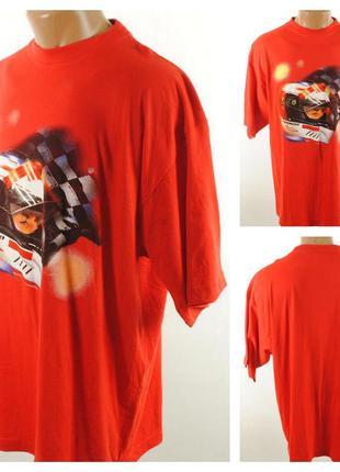 № 04/21  мужская футболка michael schumacher размер 54/56 (xl...