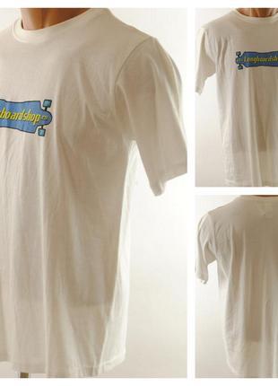 № 04/30  мужская футболка longboardshop размер 44/46