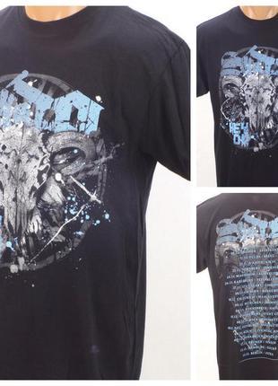 № 26/12  мужская футболка bravado размер 46 (s). новая