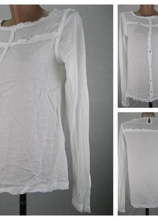№ 22/48 женская блузка zara. размер 46 (м)
