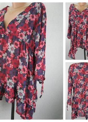 № 26/14  женская блуза cazual    размер 52/54