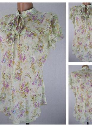 № 26/24   женская блуза h&m  размер 48/50  (14)