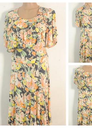 Трикотажное платье размер 46/48 (12)