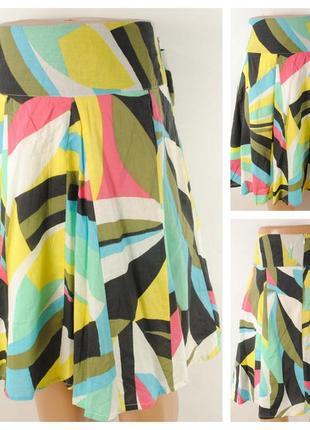 Летняя юбка papaya  размер 50/52 (16)