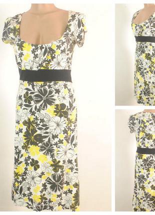 Трикотажное платье размер 46/48 (м)