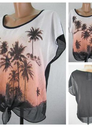 Женская блуза denim. размер 46  (12)