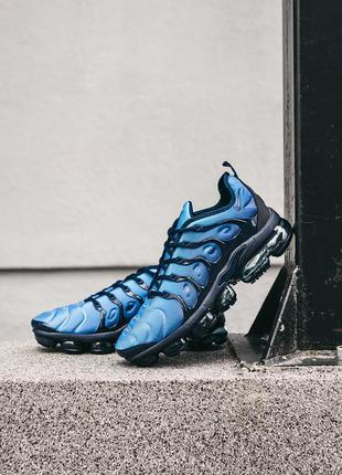 Мужские кроссовки nike vapormax plus tn blue