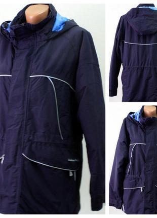 3/7 женская куртка в спортивном стиле stormafit  размер 44/46 (s)