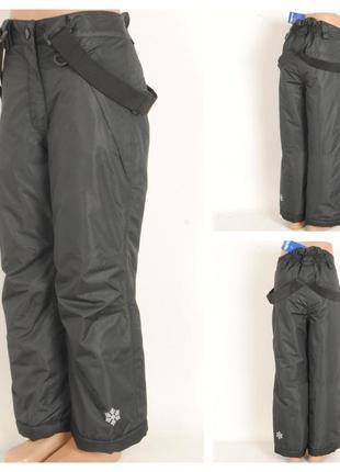 24/6  зимние штаны на подтяжках lupilu   возраст 12/24 месяца ...