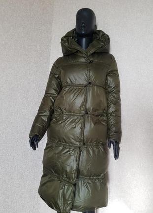 Стильне дуте пальто-куртка