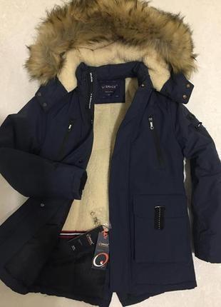 Зима. куртка парка аляска для мальчиков. венгрия