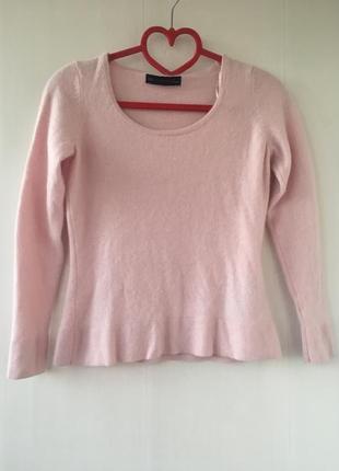 Зефирка! кашемировая кофта джемпер свитер, нежно розовый цвет ...